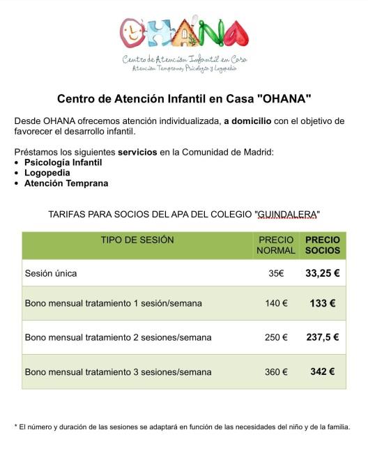 OHANA - Psicologia Infantil a Domicilio