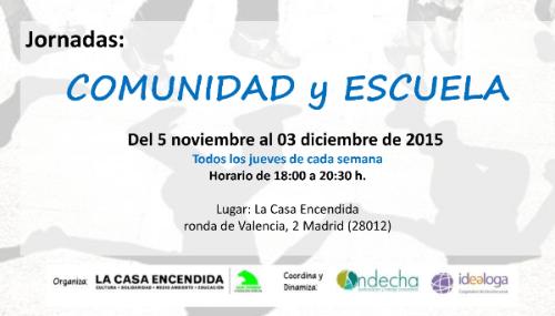 jornadascomunidadyescuela2015