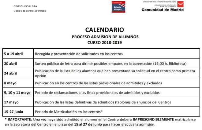 2018-01-15 09_22_35-CALENDARIO 2018-19 PROCESO ADMISION DE ALUMNOS - PDF Converter Professional 7